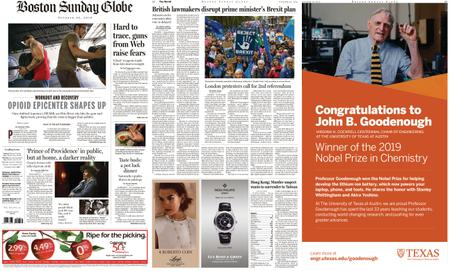 The Boston Globe – October 20, 2019