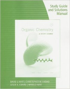 Organic Chemistry Study Guide and Solutions Manual: A Short Course, 13th edition