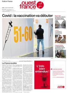 Ouest-France Édition France – 22 décembre 2020