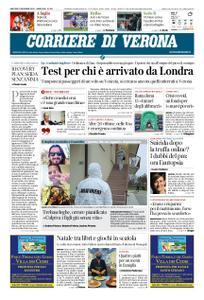 Corriere di Verona – 22 dicembre 2020