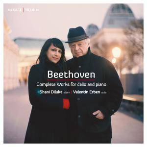 Shani Diluka & Valentin Erben - Beethoven: Complete Works for Cello and Piano (2017) [Official Digital Download]