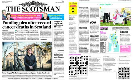 The Scotsman – October 31, 2018