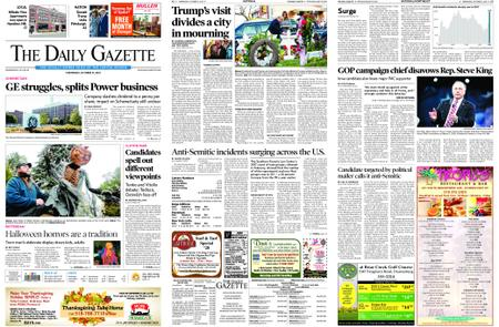 The Daily Gazette – October 31, 2018