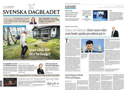 Svenska Dagbladet – 25 april 2019