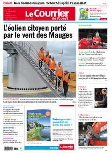 Le Courrier de l'Ouest Cholet – 26 juillet 2021