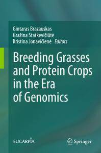 Breeding Grasses and Protein Crops in the Era of Genomics