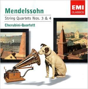 Cherubini-Quartett - Felix Mendelssohn: String Quartets Nos. 3 & 4 (2004)