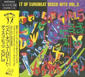VA - Best Of Eurobeat Disco Hits Vol. 3 (1989) [Canyon International Japan}