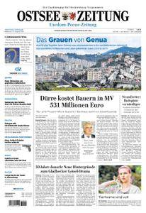 Ostsee Zeitung Wolgast - 15. August 2018