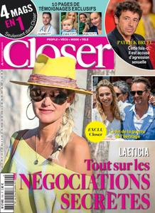 Closer France - 18 octobre 2019