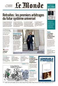 Le Monde du Vendredi 12 Octobre 2018