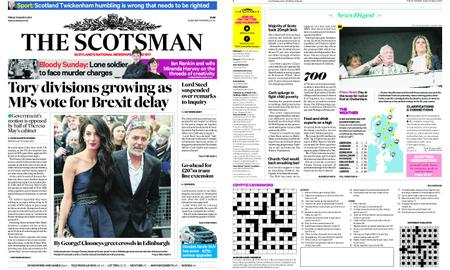 The Scotsman – March 15, 2019