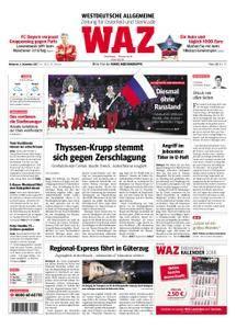 WAZ Westdeutsche Allgemeine Zeitung Oberhausen-Sterkrade - 06. Dezember 2017