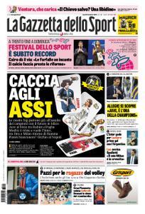 La Gazzetta dello Sport Roma – 12 ottobre 2018