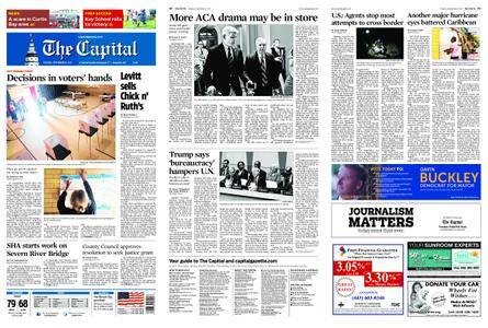 The Capital – September 19, 2017