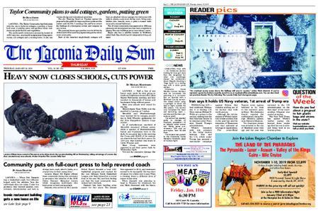 The Laconia Daily Sun – January 10, 2019