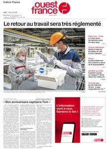 Ouest-France Édition France – 05 mai 2020