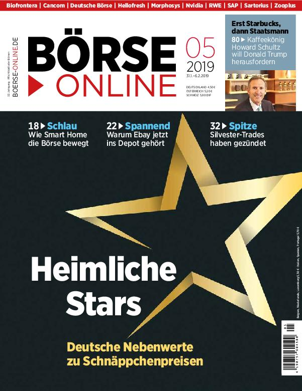 Börse Online – 31. Januar 2019