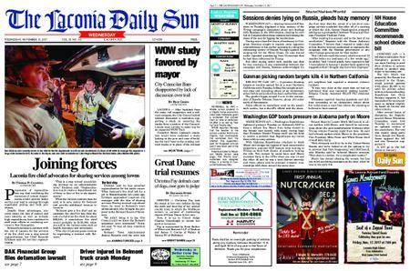 The Laconia Daily Sun – November 15, 2017