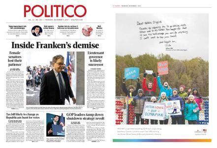 Politico – December 07, 2017
