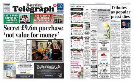 Border Telegraph – December 19, 2018