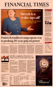 Financial Times UK – 16 January 2020