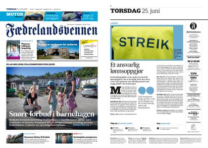 Fædrelandsvennen – 25. juni 2020