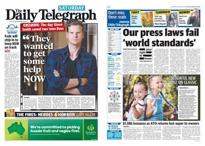 The Daily Telegraph (Sydney) – November 16, 2019