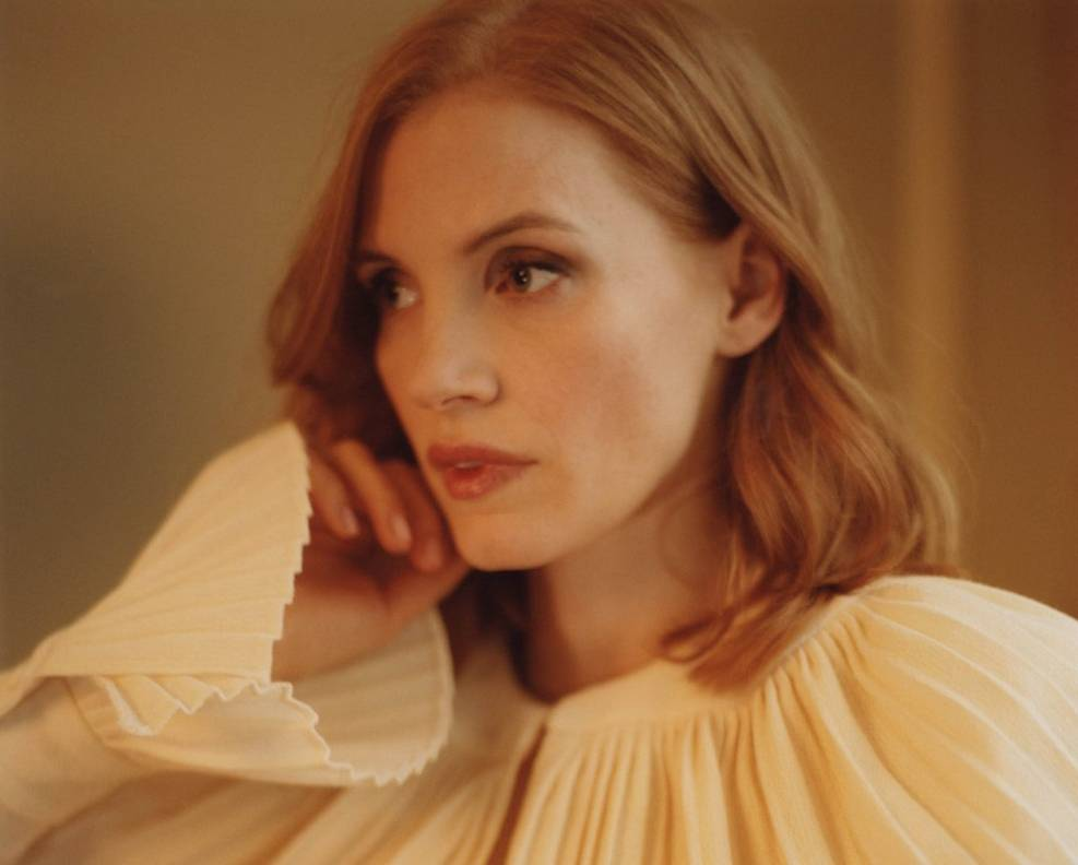 Jessica Chastain by Tom Craig for Telegraph Magazine April 2017