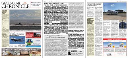 Gibraltar Chronicle – 05 February 2021