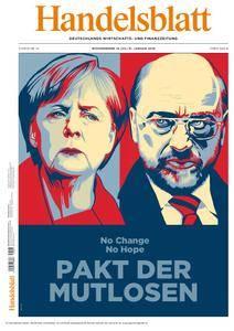 Handelsblatt - 19. Januar 2018