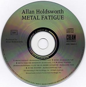 Allan Holdsworth - Metal Fatigue (1985) {Cream Records}