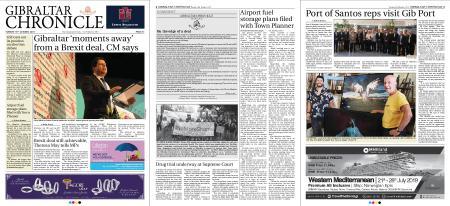 Gibraltar Chronicle – 16 October 2018