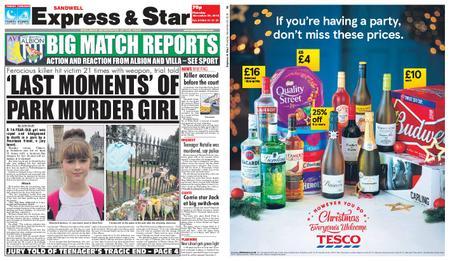 Express and Star Sandwell Edition – November 29, 2018