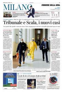 Corriere della Sera Milano – 04 marzo 2020