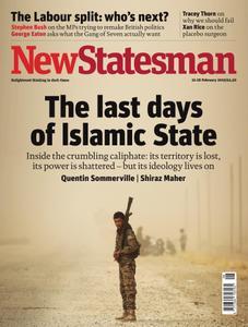 New Statesman - 22 - 28 February 2019