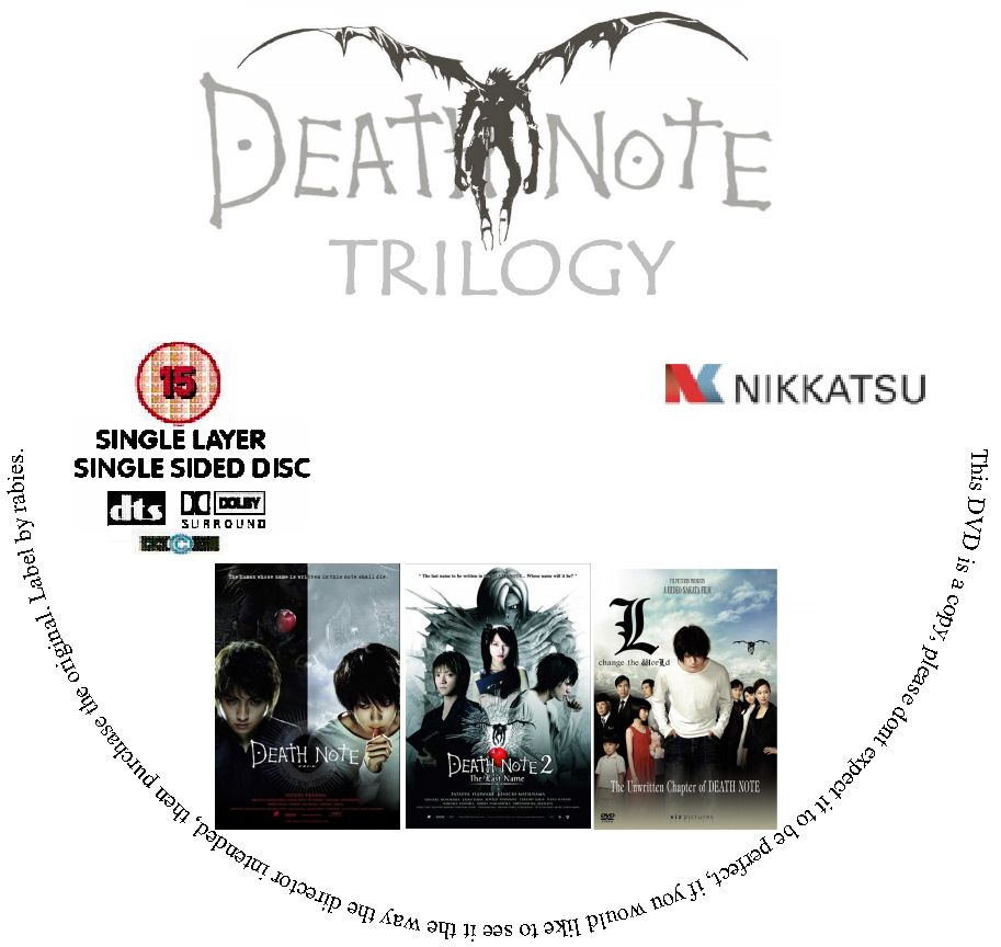 Death Note 720p: Death Note Trilogy (2006-2008) / AvaxHome