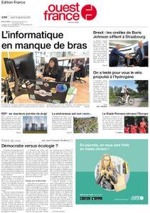 Ouest-France Édition France – 19 septembre 2019