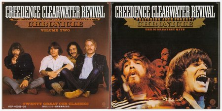 Creedence Clearwater Revival - Chronicle: Volume 1 & 2 (1990) {2CD Set, Japan} Re-Up