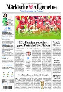 Neue Oranienburger Zeitung - 17. Juni 2019