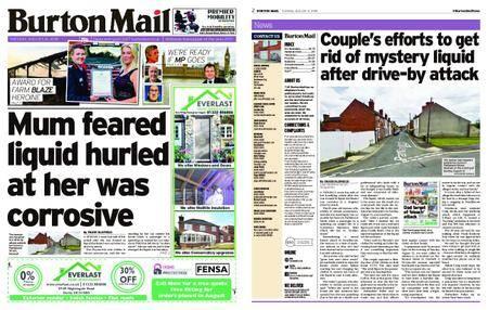 Burton Mail – August 21, 2018