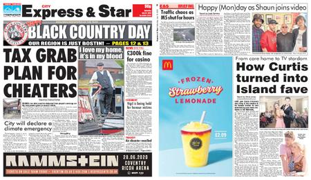 Express and Star City Edition – July 13, 2019