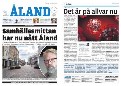 Ålandstidningen – 28 mars 2020