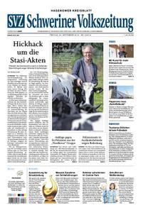 Schweriner Volkszeitung Hagenower Kreisblatt - 20. September 2019