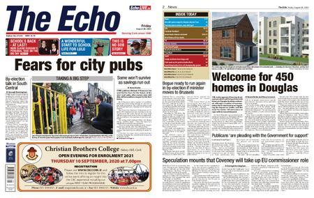 Evening Echo – August 28, 2020
