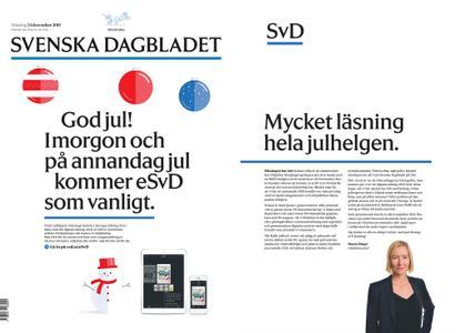 Svenska Dagbladet – 24 december 2018