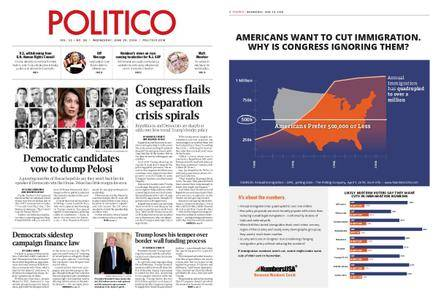 Politico – June 20, 2018