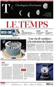 Le Temps - 23 mars 2019