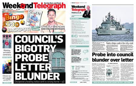 Evening Telegraph First Edition – November 10, 2018