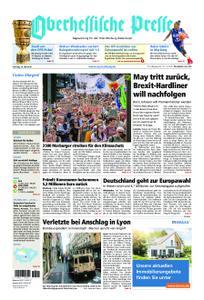 Oberhessische Presse Marburg/Ostkreis - 25. Mai 2019